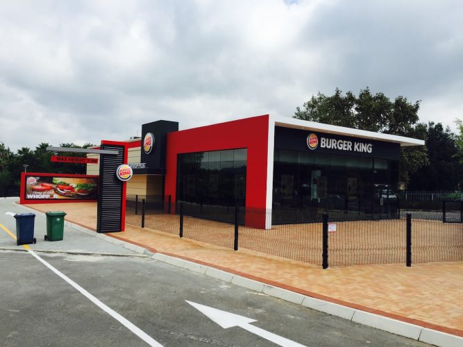 Light Steel Frame Structures Cape Town South Africa: Burger King Norwood